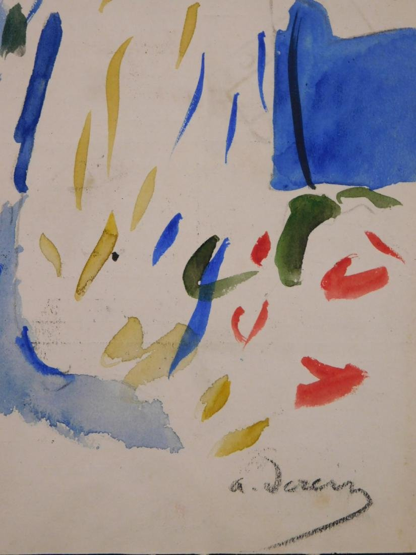 Andre Derain: Watercolor with Figures - 8