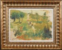 Pierre-Auguste Renoir: Landscape Study