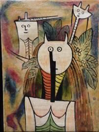 Wifredo Lam: Horned Figures