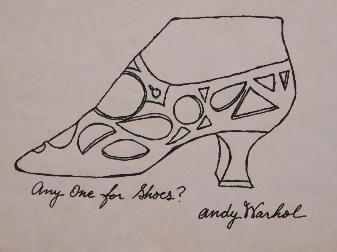 Andy Warhol: Any One for Shoes?