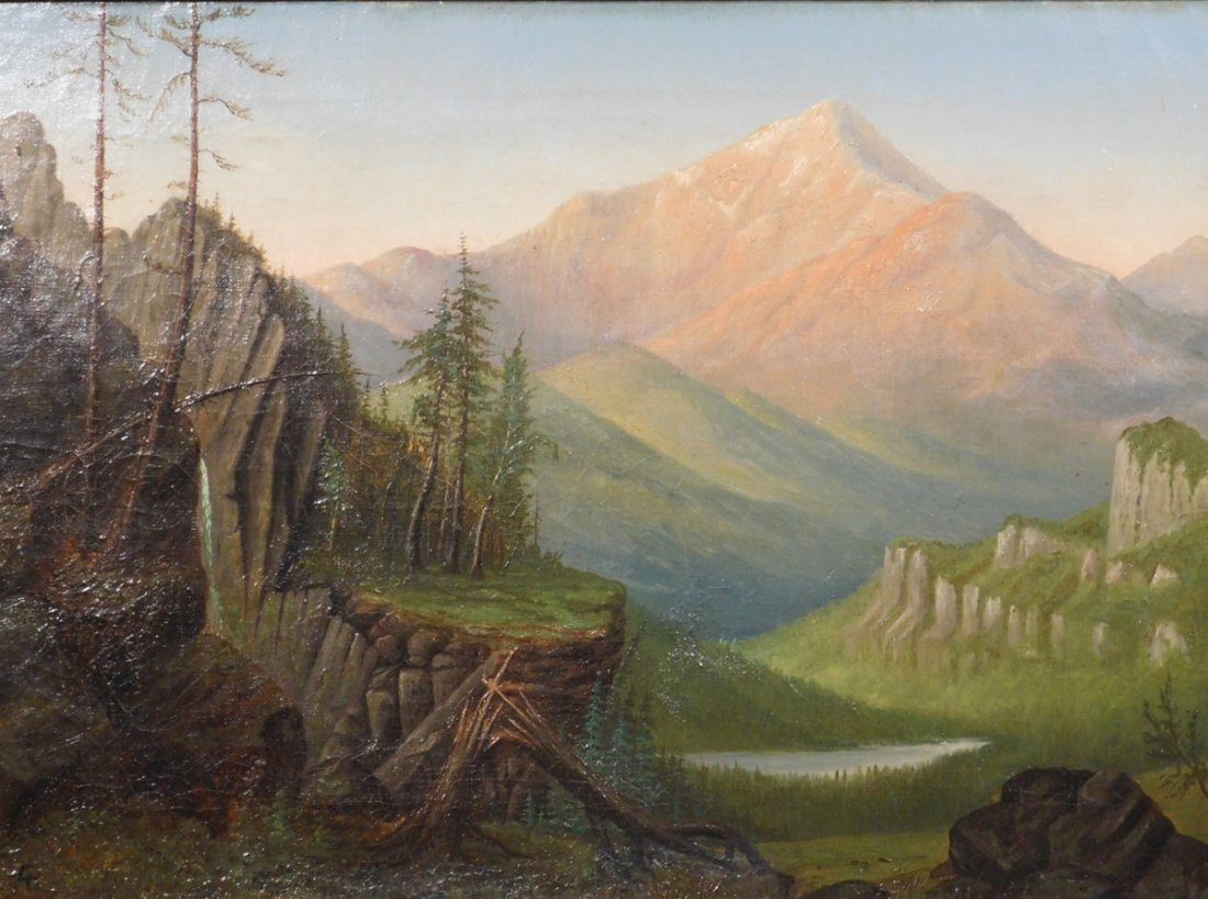 Albert Bierstadt: Twilight on Schroon Mountain