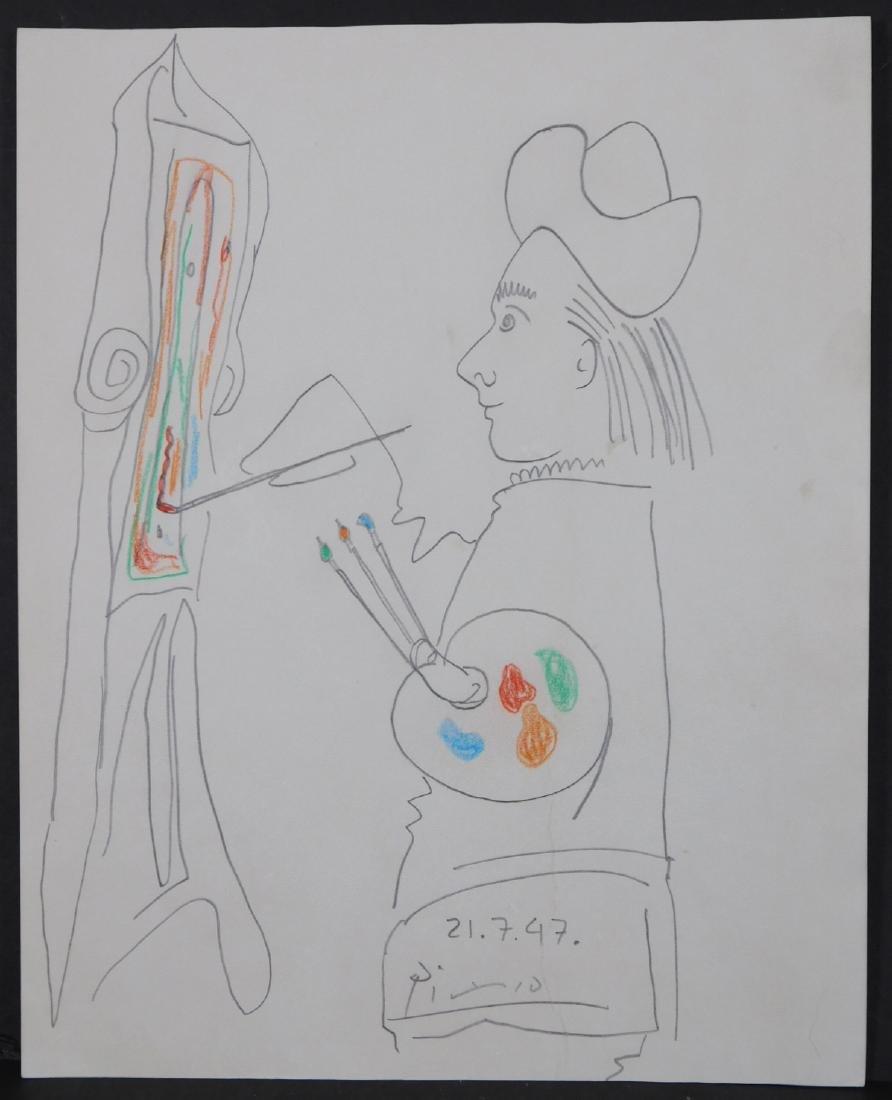Pablo Picasso: Le Peintre