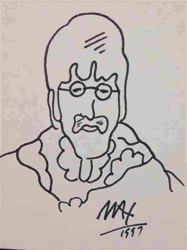 Peter Max: John Lennon