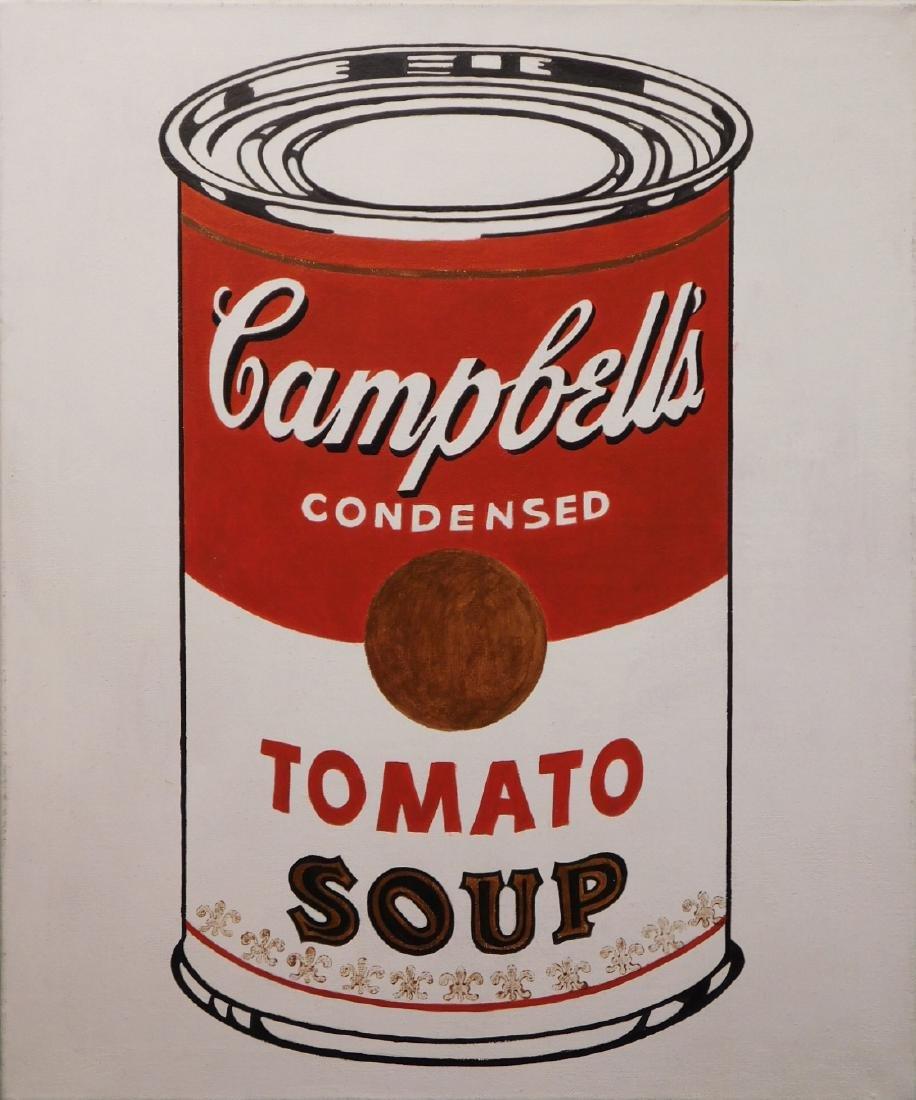 4b1665e63e86 Andy warhol tomato soup painting jpg 916x1100 Tomator soup andy warhol