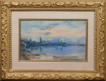 John Marin: View of Venice from Murano