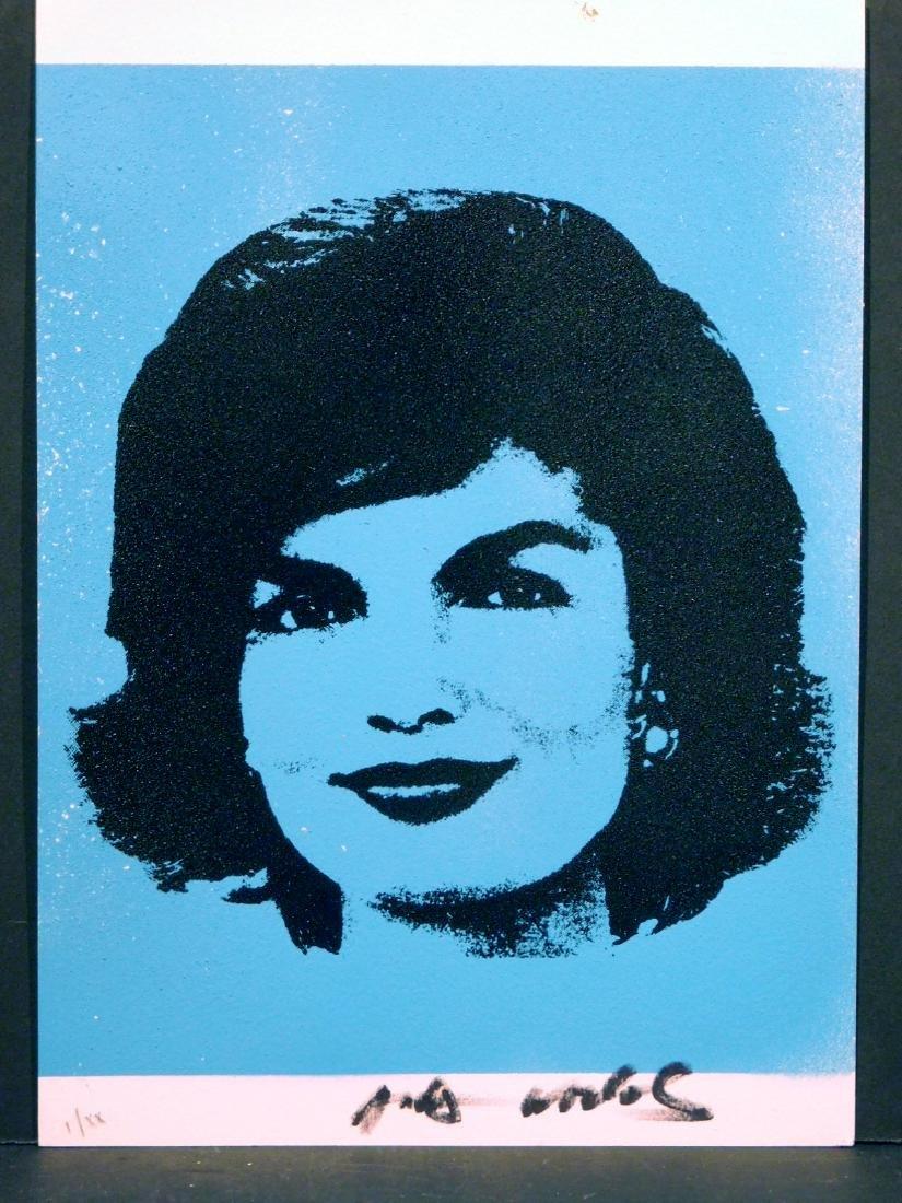 Andy Warhol: Jackie Kennedy - Mar 07, 2019   Woodshed Art