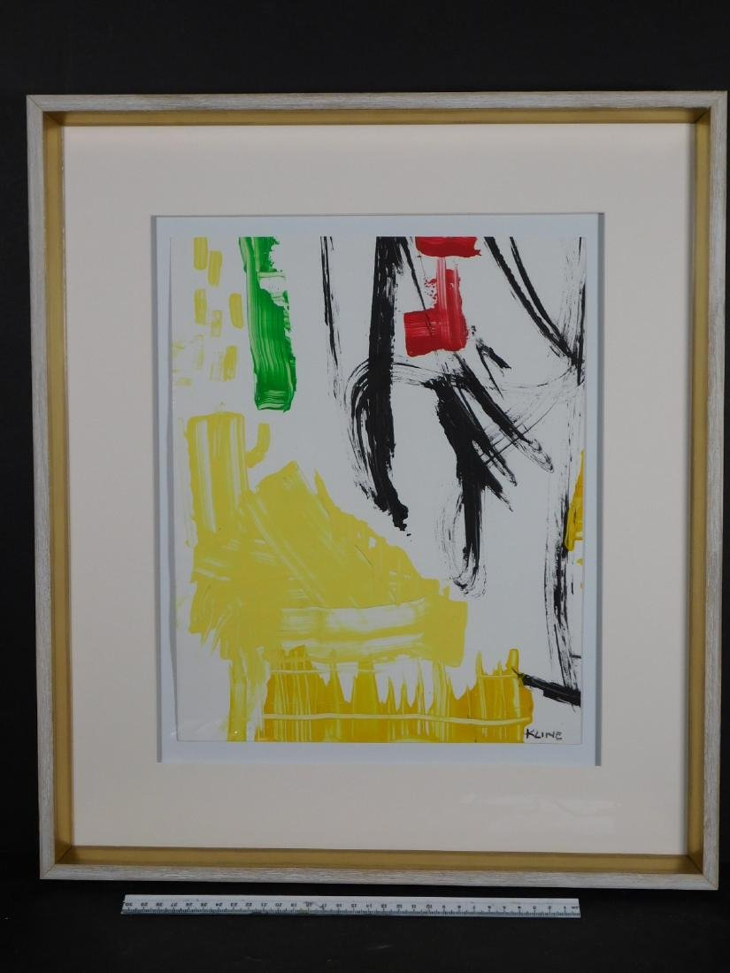 Franz Kline: Abstract Composition - 10