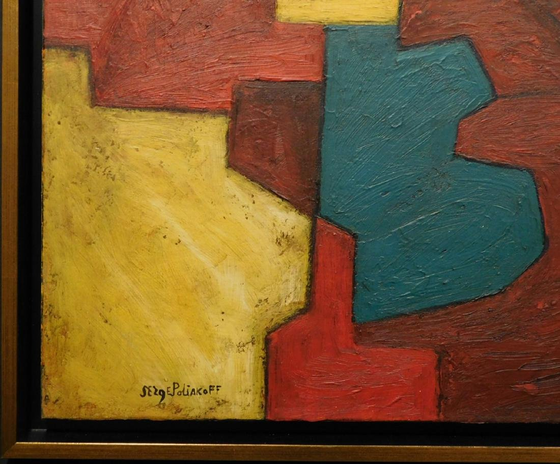 Serge Poliakoff: Abstract Composition - 2