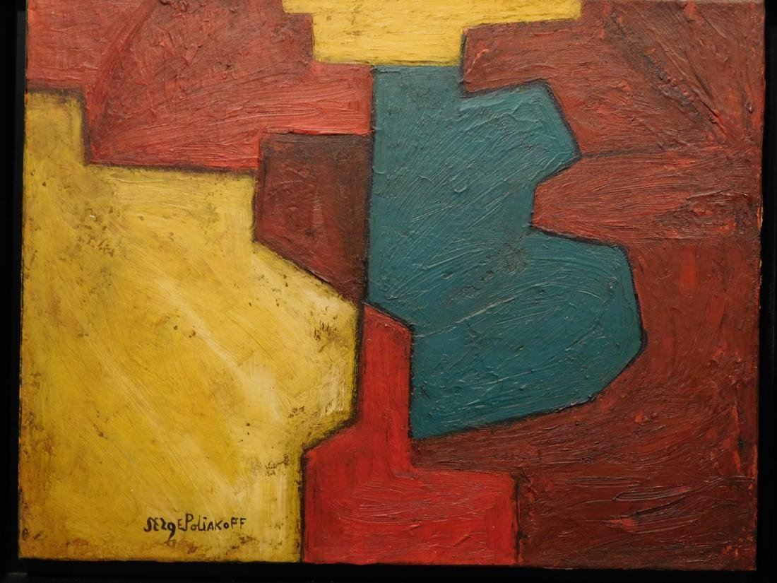 Serge Poliakoff: Abstract Composition - 6