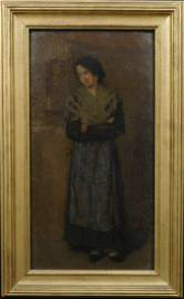 James McNeill Whistler: Peasant Woman