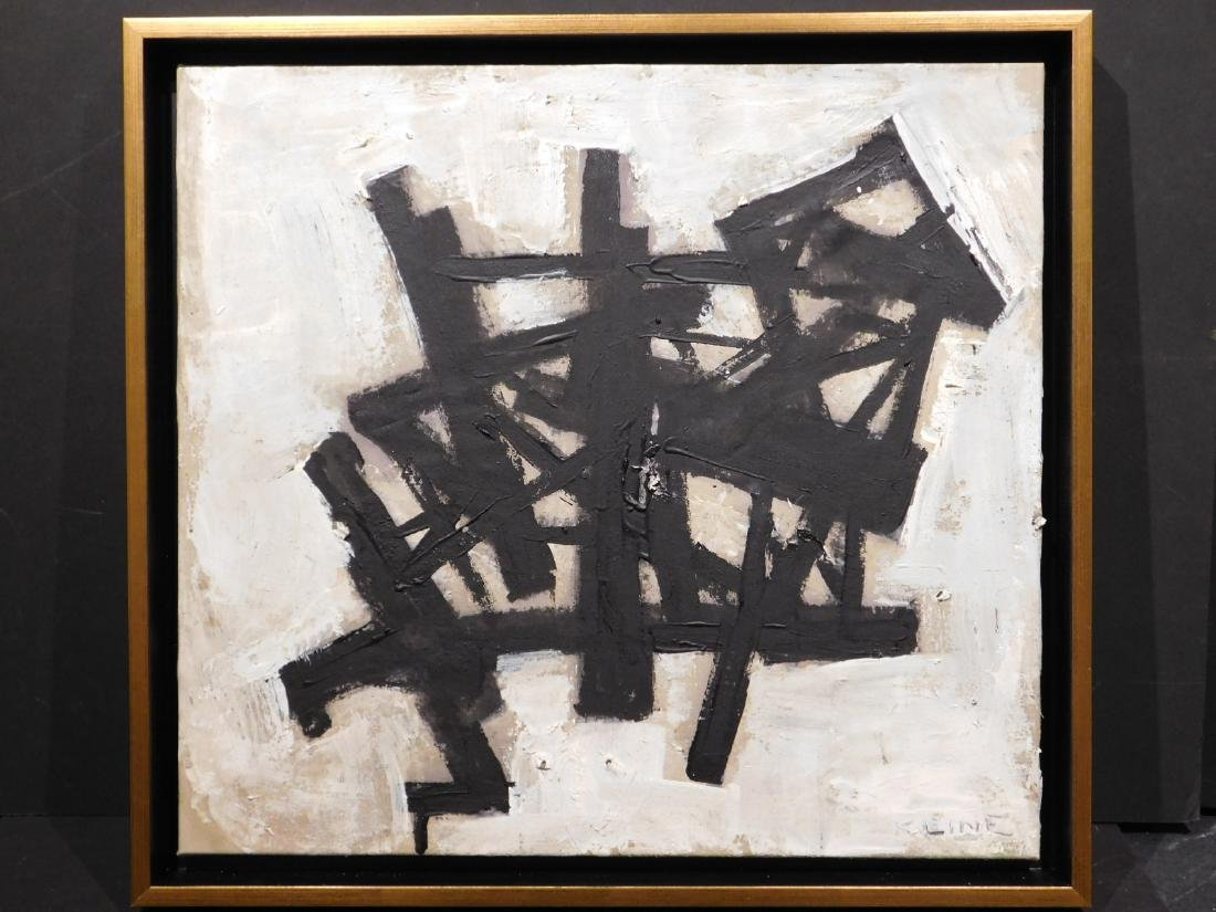 Franz Kline: Abstract Composition - 2
