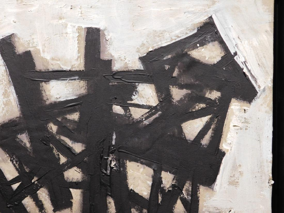 Franz Kline: Abstract Composition - 4