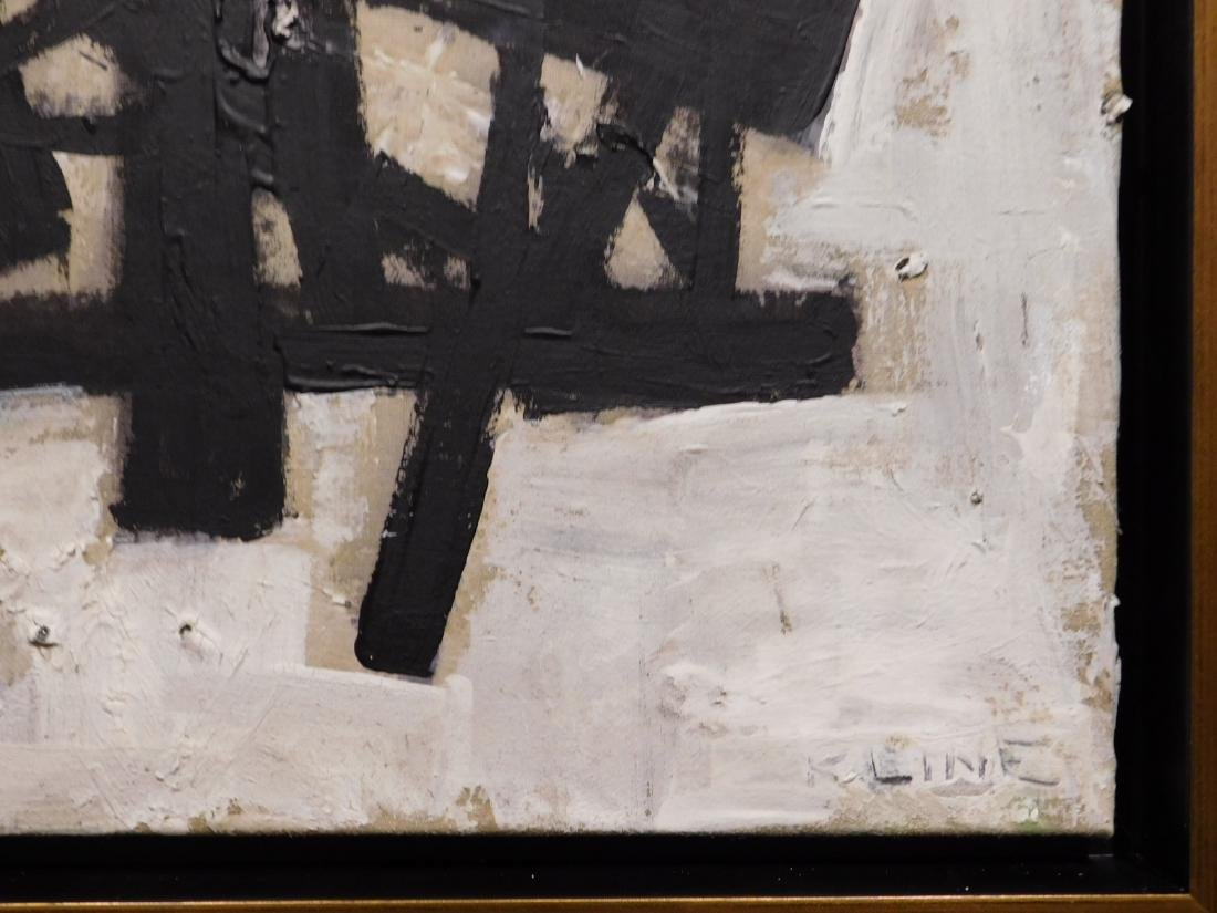 Franz Kline: Abstract Composition - 5