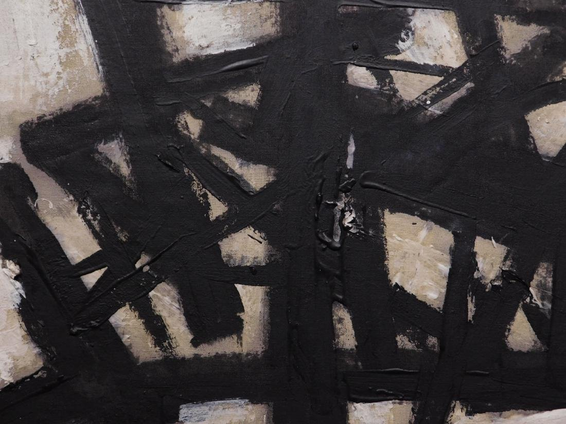 Franz Kline: Abstract Composition - 8
