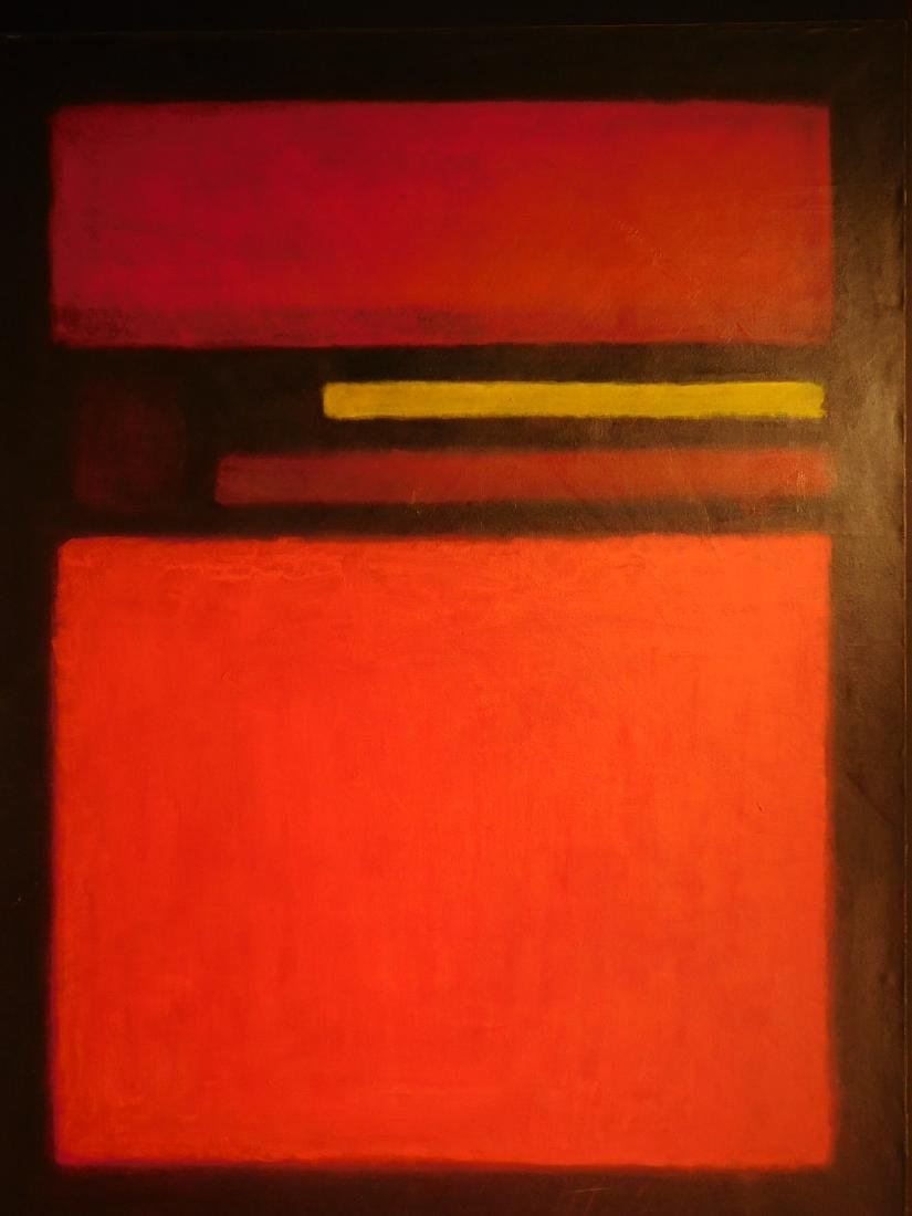 Mark Rothko: 1958 Color Field Painting