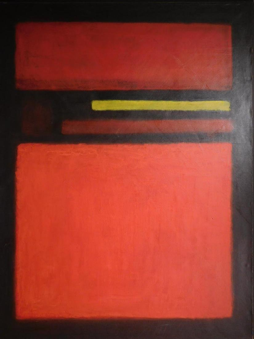 Mark Rothko: 1958 Color Field Painting - 3