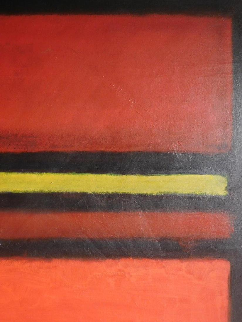 Mark Rothko: 1958 Color Field Painting - 4