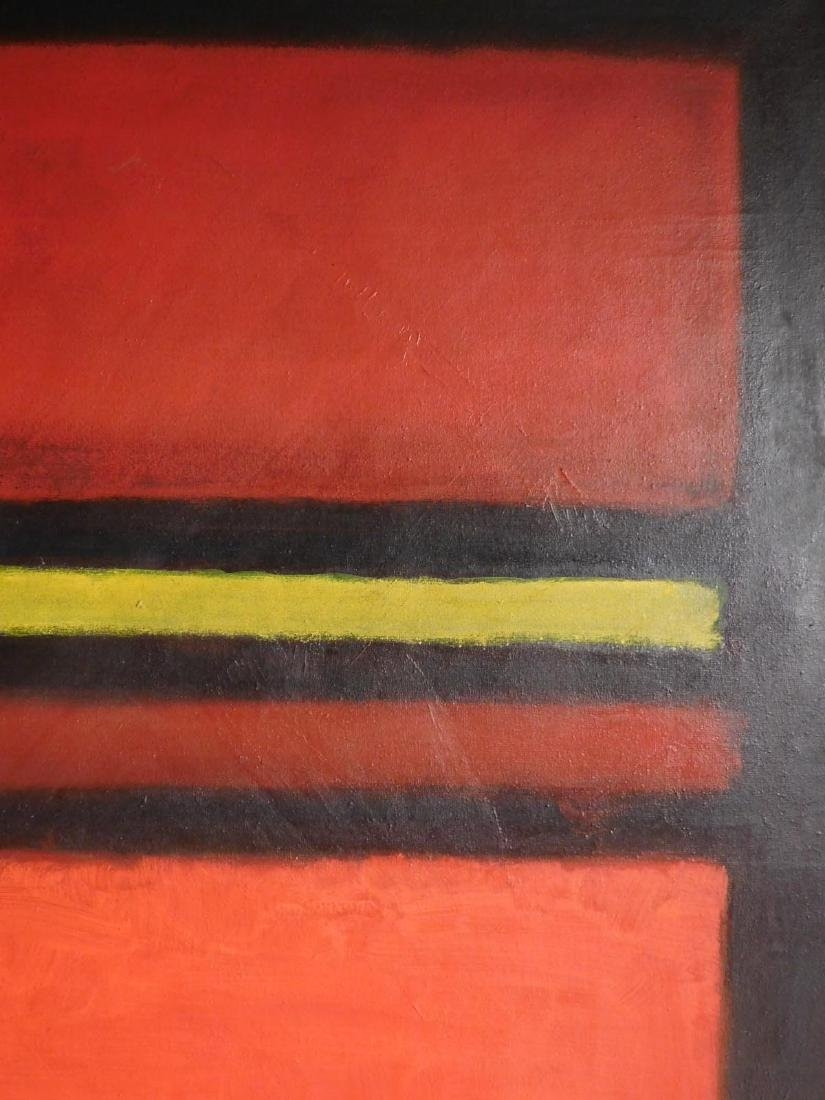 Mark Rothko: 1958 Color Field Painting - 5