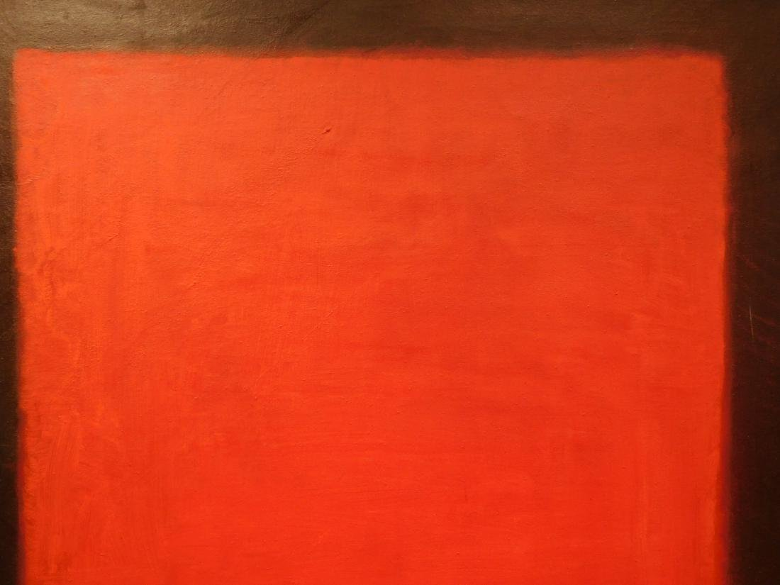 Mark Rothko: 1958 Color Field Painting - 6