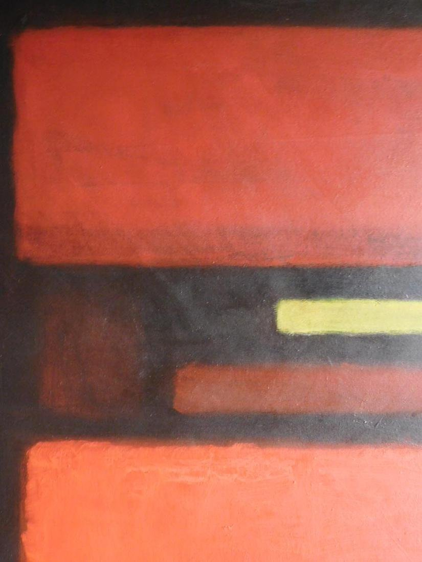 Mark Rothko: 1958 Color Field Painting - 8