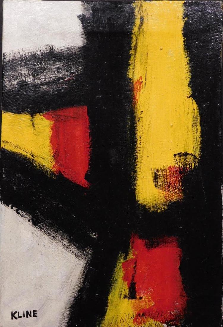 Franz Kline: Abstract Composition - 2