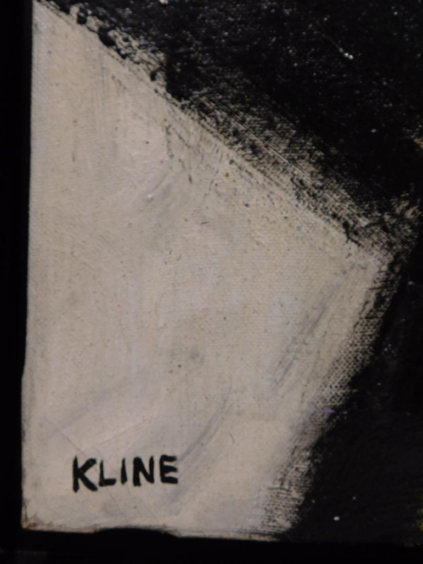Franz Kline: Abstract Composition - 4
