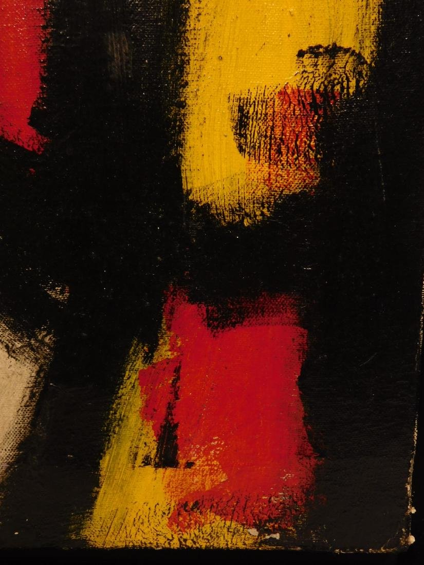 Franz Kline: Abstract Composition - 7