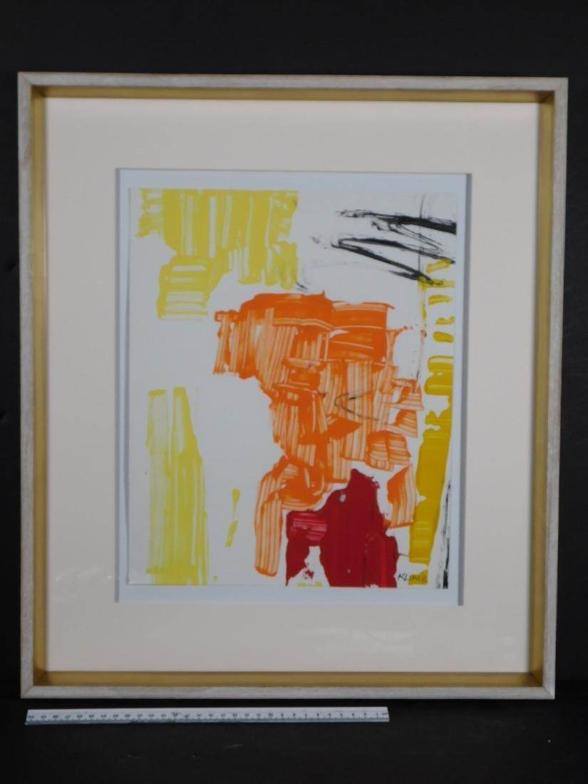 Franz Kline: Abstract Composition - 9