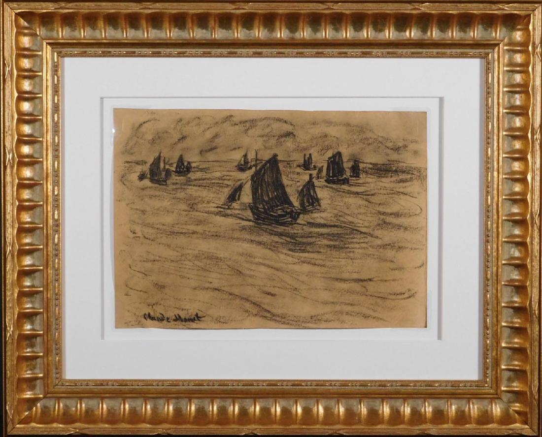 Claude Monet: Seascape