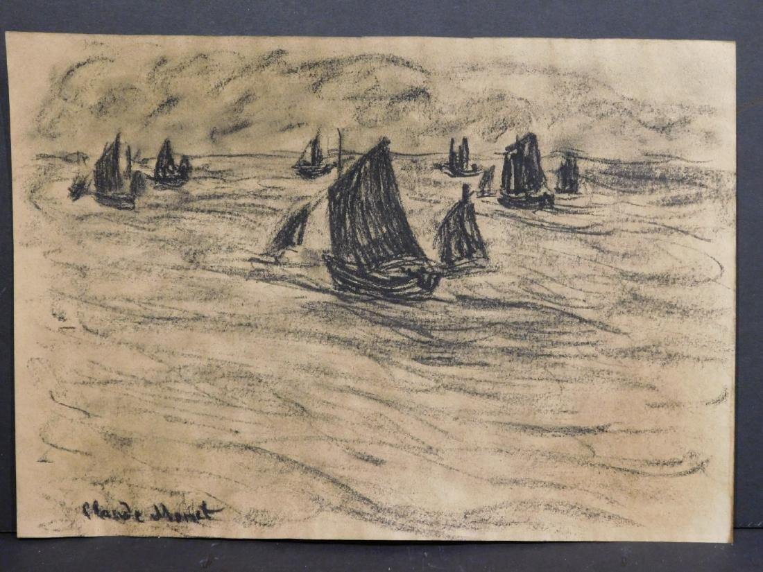 Claude Monet: Seascape - 4