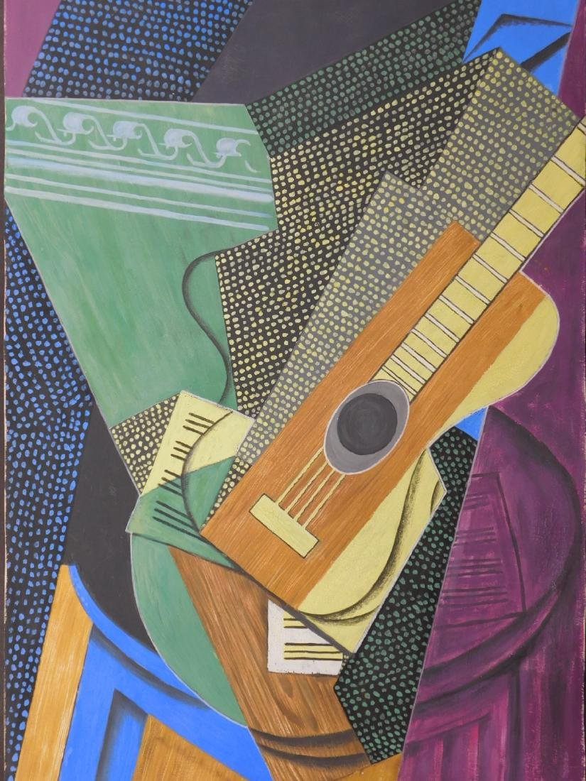 After Juan Gris: Guitar on a Table