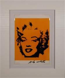 Andy Warhol: Marilyn Monroe