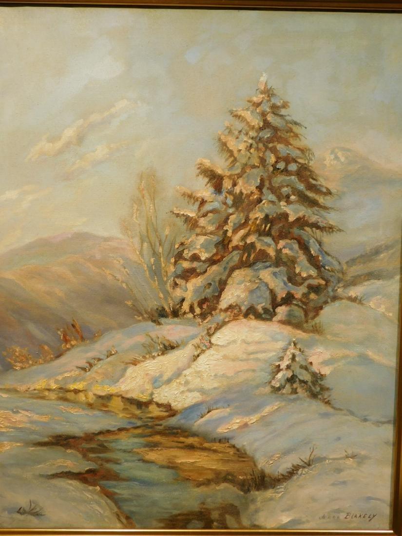 Jerro Blakely: Winter Landscape