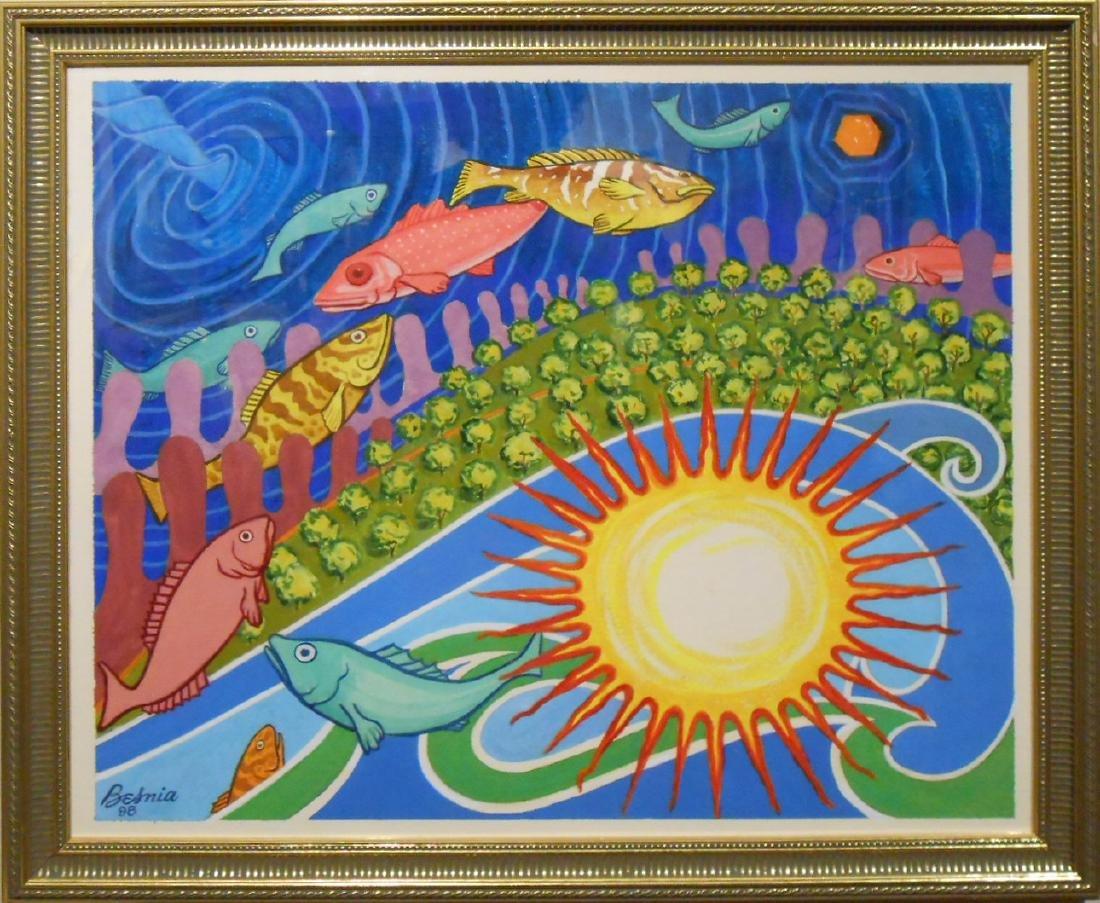 Howard Besnia: Symbolic Fantasy, Watercolor