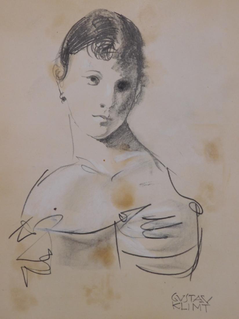 Gustav Klimt: Sketch of a Woman