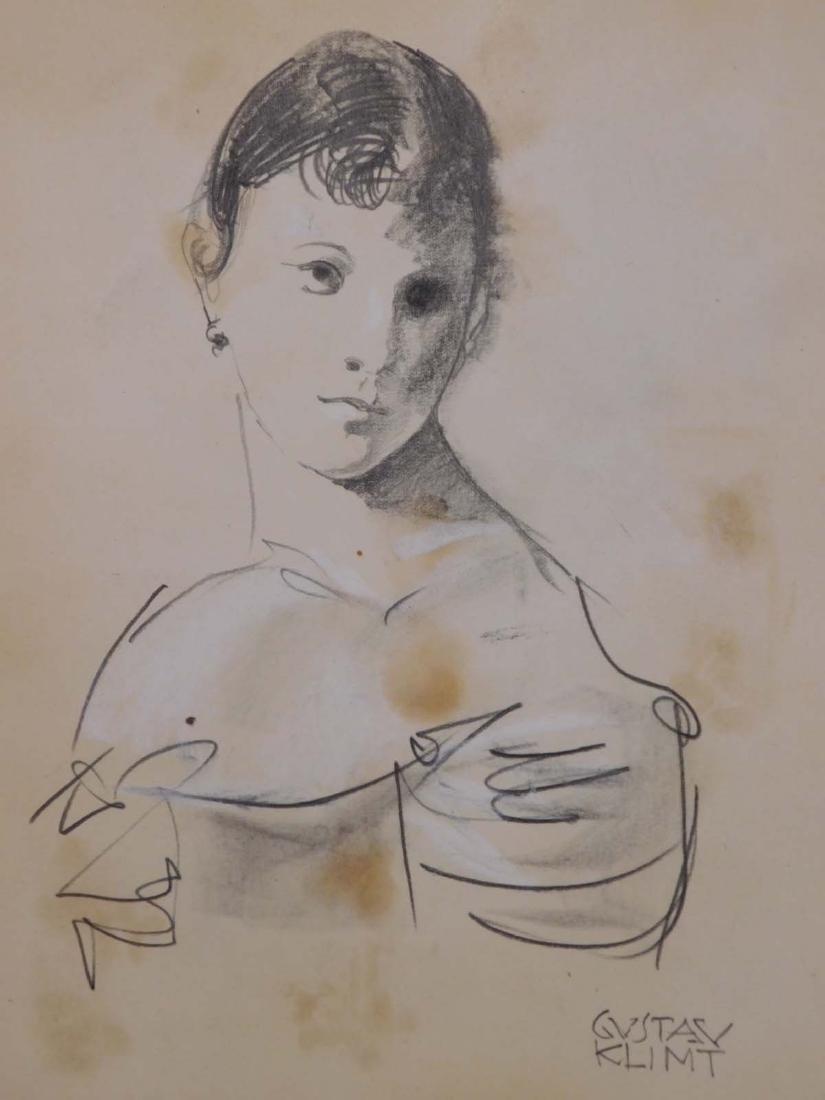 Gustav Klimt: Sketch of a Woman - 2