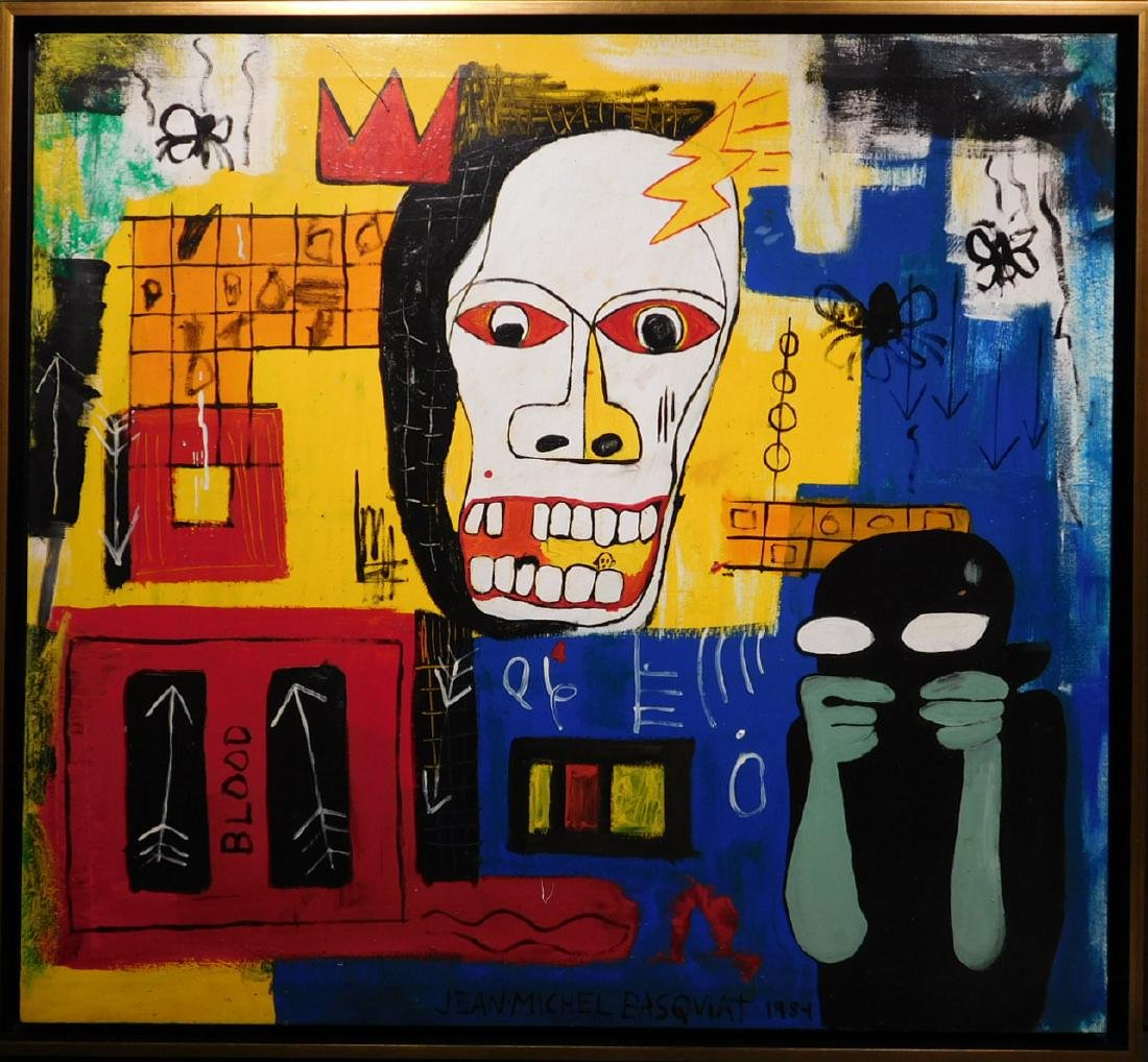 Jean-Michel Basquiat: Blood
