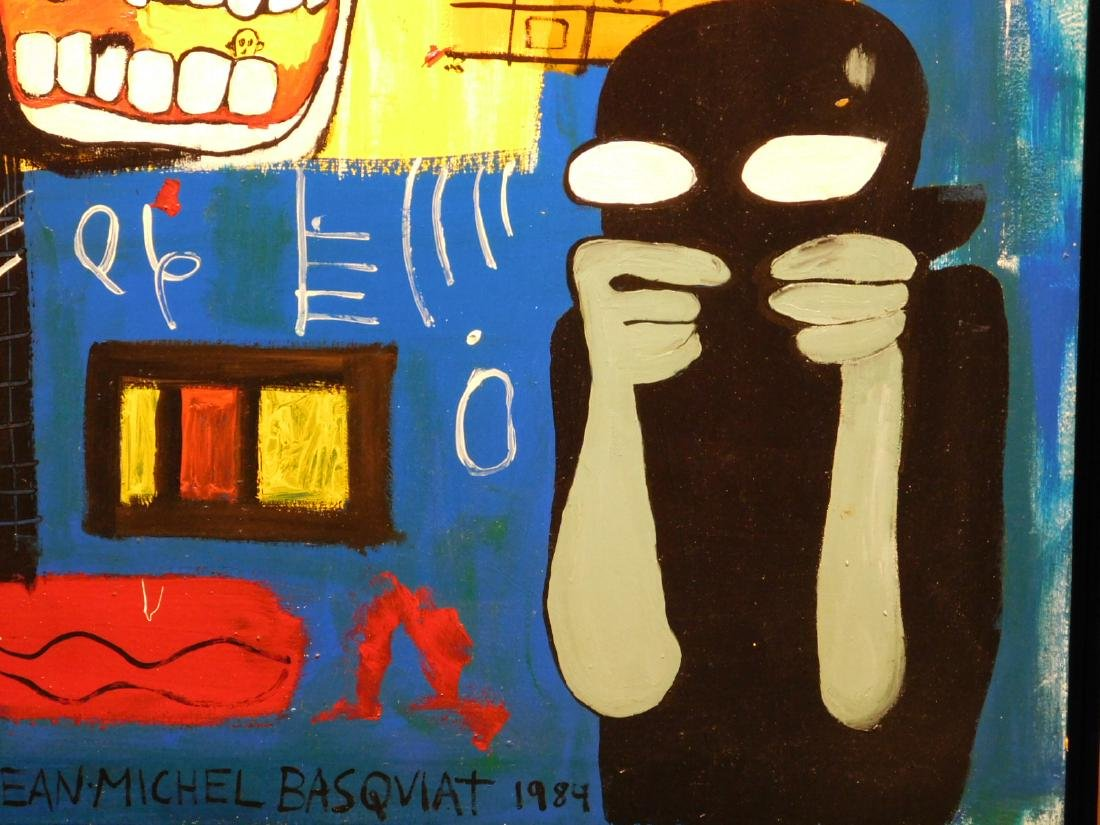 Jean-Michel Basquiat: Blood - 4