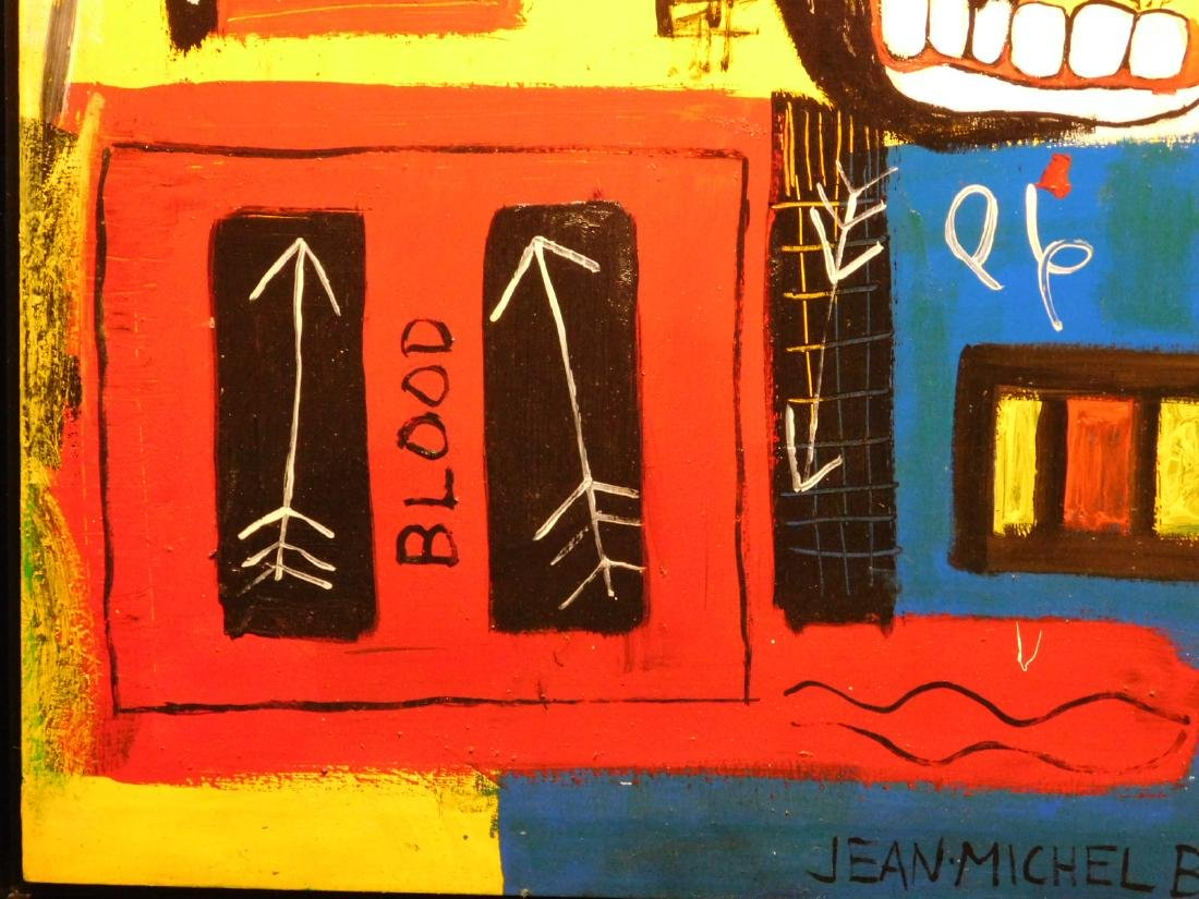 Jean-Michel Basquiat: Blood - 6