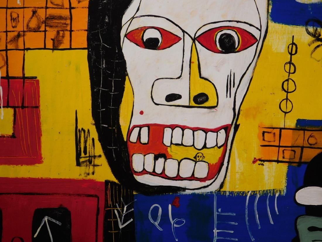 Jean-Michel Basquiat: Blood - 8