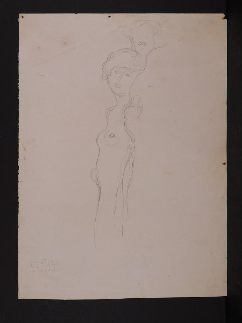 Gustav Klimt: Nude Figures - 3