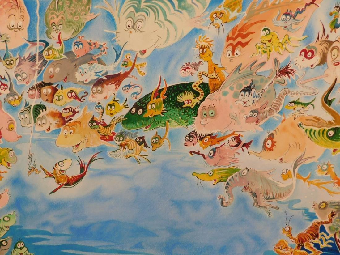 Dr. Seuss: A Plethora of Fish