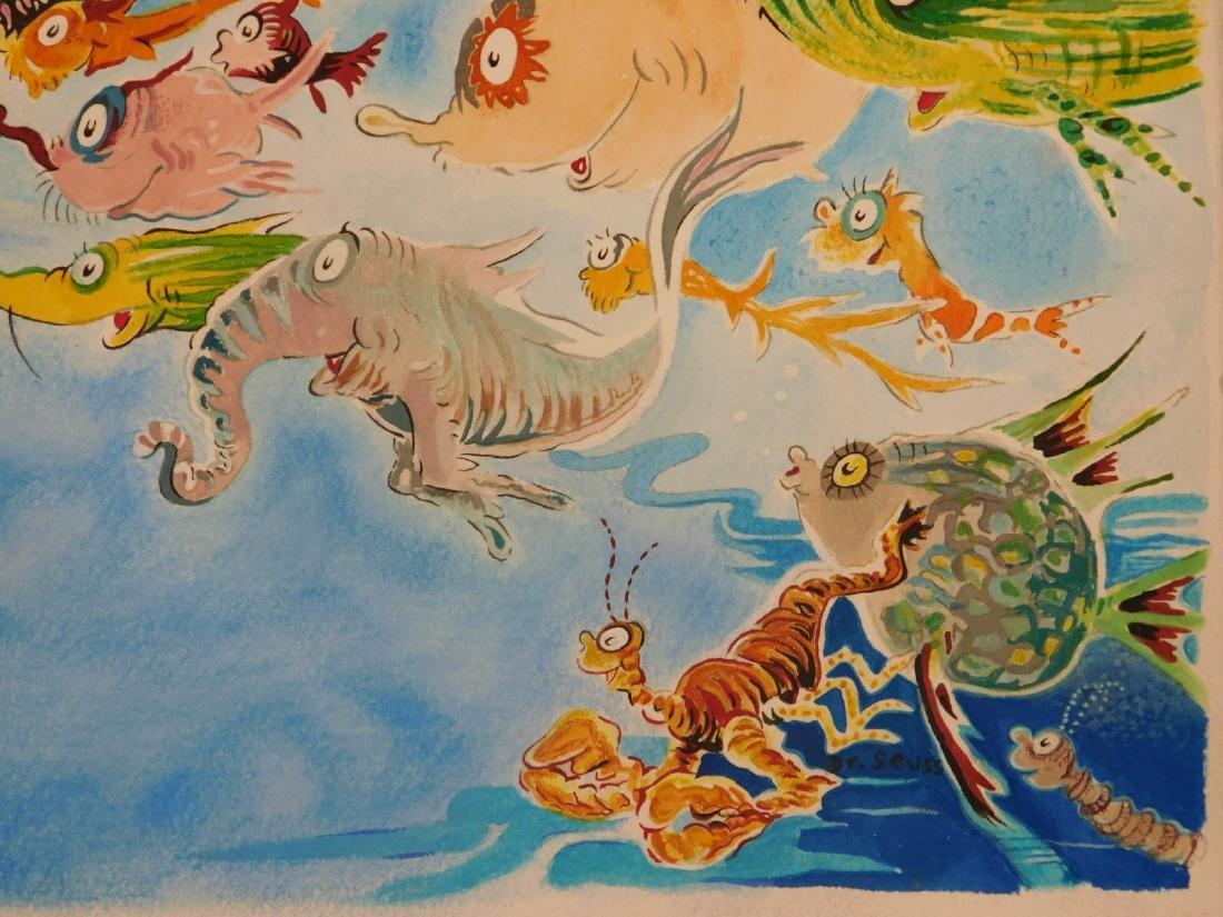 Dr. Seuss: A Plethora of Fish - 2