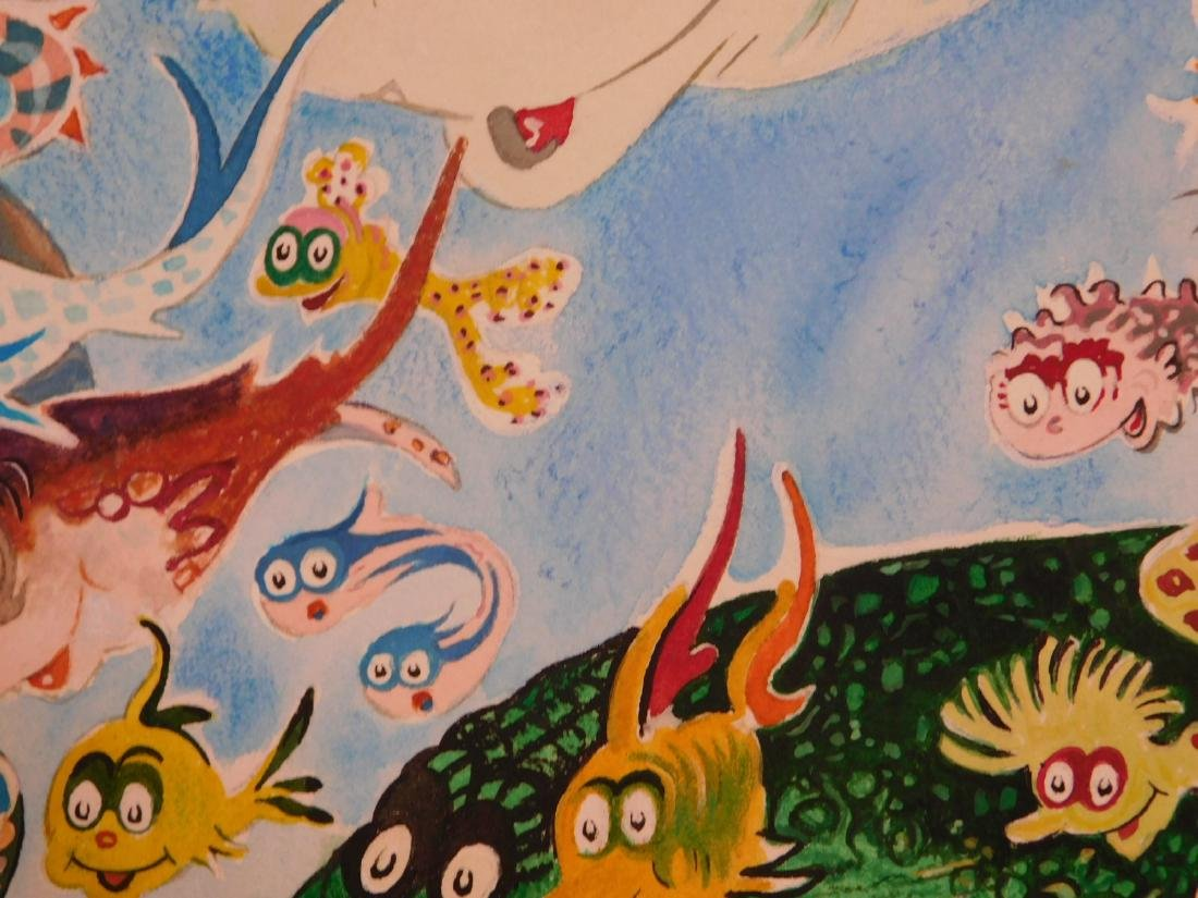 Dr. Seuss: A Plethora of Fish - 3