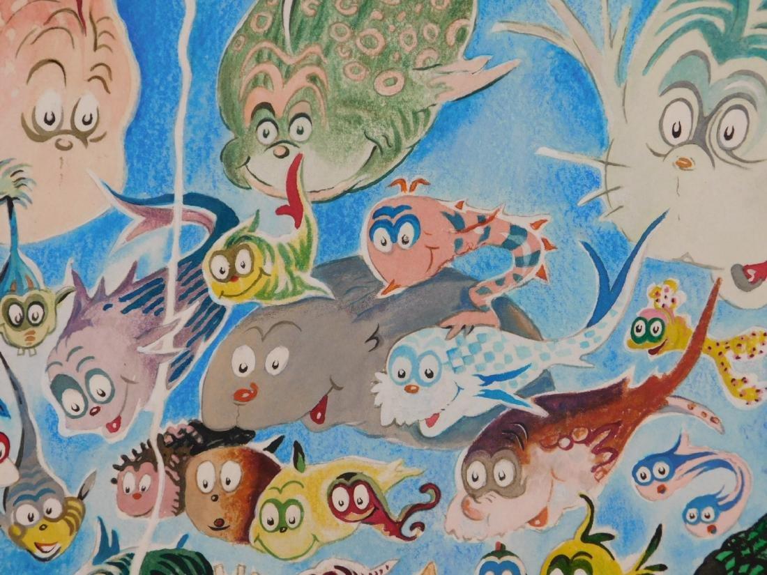 Dr. Seuss: A Plethora of Fish - 5