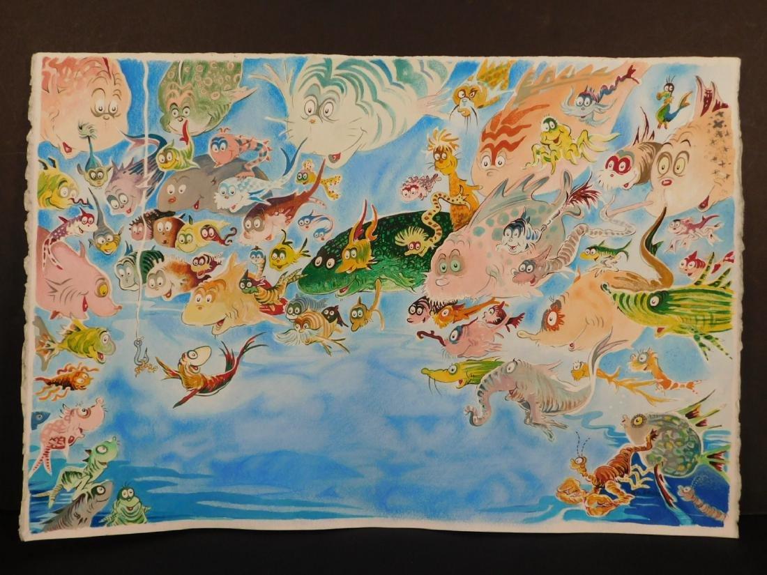 Dr. Seuss: A Plethora of Fish - 6