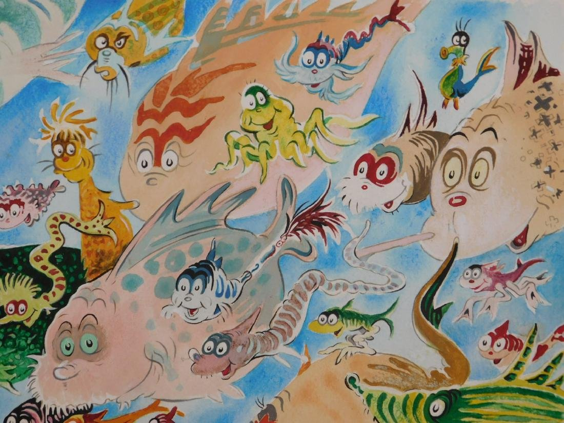 Dr. Seuss: A Plethora of Fish - 8