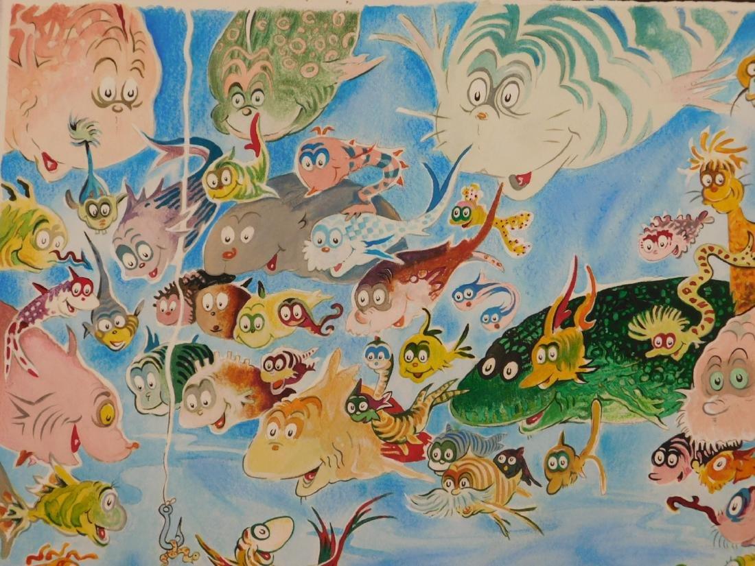Dr. Seuss: A Plethora of Fish - 9