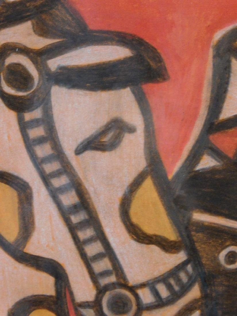 After Fernand Leger: From the Circus Album 1950 - 4