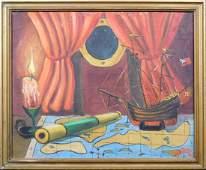 Robert W. Heathfield: Ship Interior Still Life